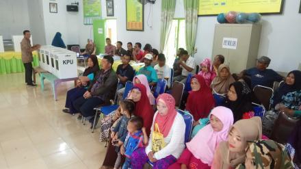 Pilkades Tanjung Harap, 79%  Pemilih Gunakan Hak Suara